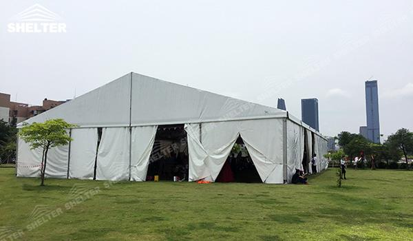 SHELTER Event Tent - Small Tent - Commercial Marquee - Exhibition Hall - Aluminum Clear Span Structures - Large Fair Marquee for Sale - (4)