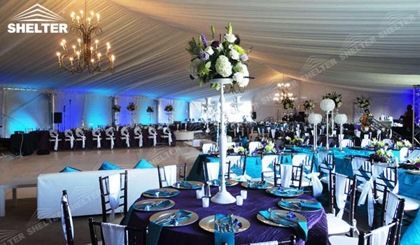 SHELTER Mixed Party Tent - Temporary Church Structures - Luxury Wedding Marquee - High Peak Tents - Bellend Tent - Yuma Tent for Sale -(3)
