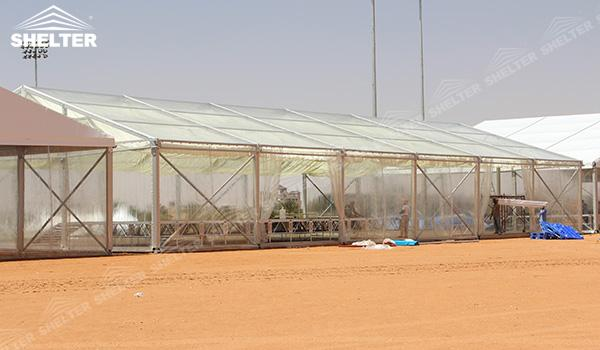 SHELTER Event Tent - Frame Tents for Churches - Commercial Marquee - Exhibition Hall - Aluminum Clear Span Structures - Large Fair Marquee for Sale (11)