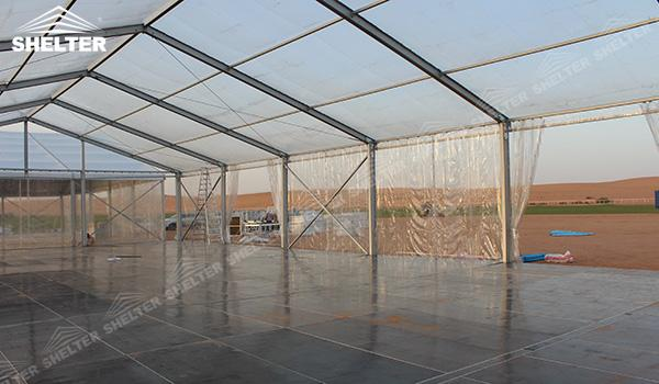 SHELTER Event Tent - Frame Tents for Churches - Commercial Marquee - Exhibition Hall - Aluminum Clear Span Structures - Large Fair Marquee for Sale (13)