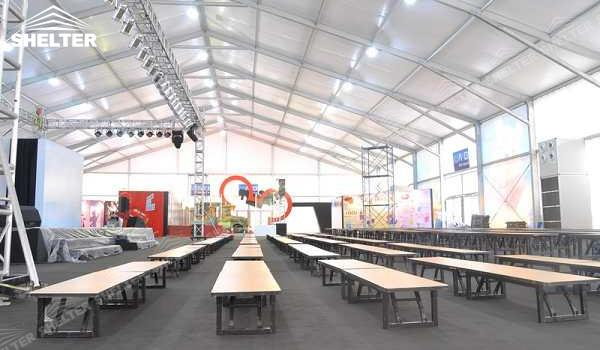 SHELTER Event Tent - Church Tents for Sale in South Africa - Commercial Marquee - Exhibition Hall - Aluminum Clear Span Structures - Large Fair Marquee for Sale (8)