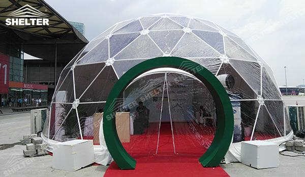 SHELTER Geodesic Domes - Geodesic Dome Tents - Dome Tent - Hemisphere Tents - Event Geodome for Sale - Wedding Marquee - Party Marquees (10)