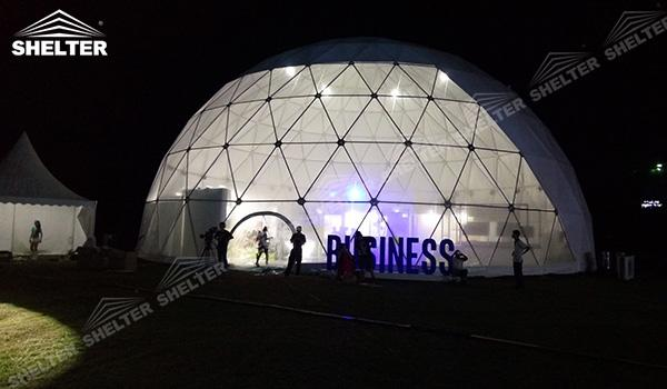 SHELTER Geodesic Domes - Event Domes - Dome Tent - Hemisphere Tents - Event Geodome for Sale - Wedding Marquee - Party Marquees (12)