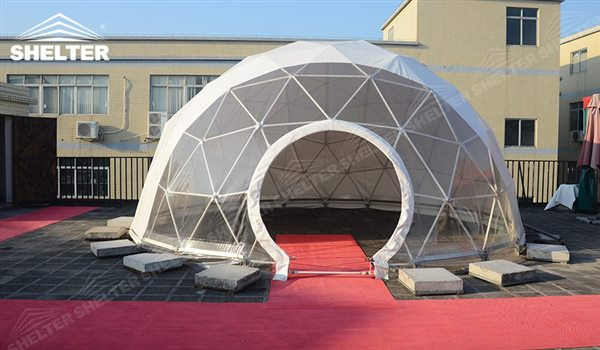 SHELTER Geodesic Domes - Geodesic Dome - Dome Tent - Hemisphere Tents - Event Geodome for Sale - Wedding Marquee - Party Marquees -145