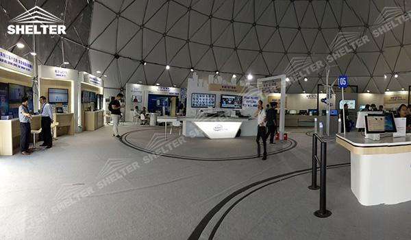 SHELTER Geodesic Domes - Event Domes - Dome Tent - Hemisphere Tents - Event Geodome for Sale - Wedding Marquee - Party Marquees (17)