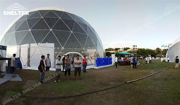 SHELTER Geodesic Domes - Dome Tent - Hemisphere Tents - Geodesic Dome Tents for Sale - Event Geodome for Sale - Wedding Marquee - Party Marquees -18