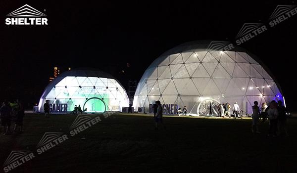 SHELTER Geodesic Domes - Event Domes - Dome Tent - Hemisphere Tents - Event Geodome for Sale - Wedding Marquee - Party Marquees (19)