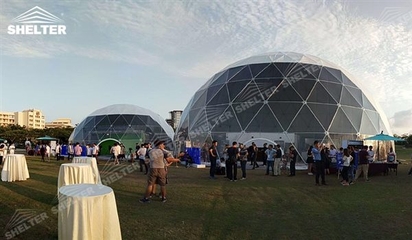 SHELTER Geodesic Domes - Dome Tent - Hemisphere Tents - Geodesic Dome Tents for Sale - Event Geodome for Sale - Wedding Marquee - Party Marquees - 2