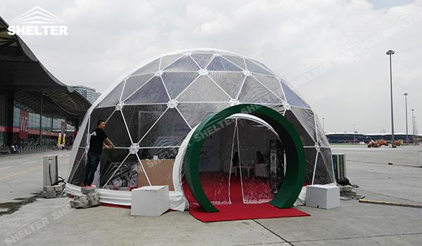 SHELTER Geodesic Domes - Geodesic Dome Tents - Dome Tent - Hemisphere Tents - Event Geodome for Sale - Wedding Marquee - Party Marquees (9)