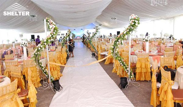 SHELTER Luxury Wedding Marquee - Church Building - Large Weddings Tent - Party Marquees for Sale - 58