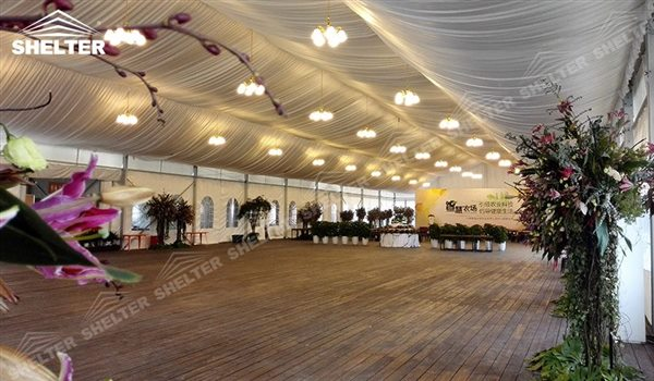 SHELTER Mixed Party Tent - Temporary Church Buildings - Luxury Wedding Marquee - High Peak Tents - Bellend Tent - Yuma Tent for Sale - 25