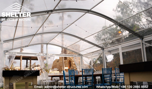 10 x 15 Tent - Clear Top Marquee with Arch Roof - Curved Roof Tent - Arch Tent - Arcum Tent - Clear Span Tent - Party Marquee for Sale - Shelter Tent (2)