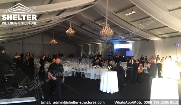 Gala Marquee for Sale - 20m Span Event Tent for Corporate Event Business Banquet Gala - Shelter Tent (3)