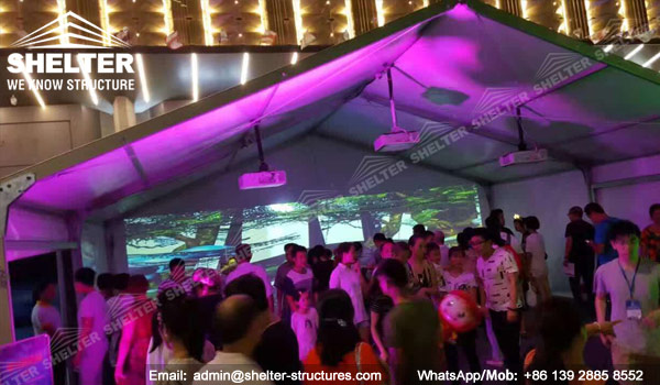SHELTER Small Tent - Event in A Tent - Wedding Marquee - lounge Tent - Party Marquees for Sale (2)