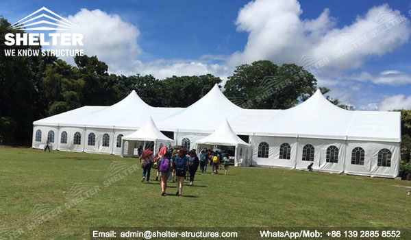 SHELTER Mixed Party Tent - Church Building Structure - Luxury Wedding Marquee - High Peak Tents - Bellend Tent - Yuma Tent for Sale - 25x50m Mixed Party Tent (2)