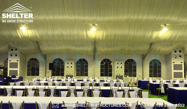 40x65m A Framed Tent for Royal Wedding - Wedding Tent Sale in Africa - Luxury Wedding Tent Structure - Shelter Structures (11)