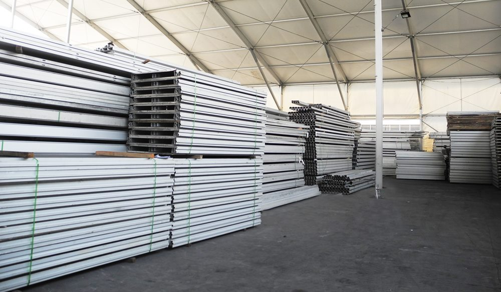 shelter clear span tent factory aluminum alloy warehouse